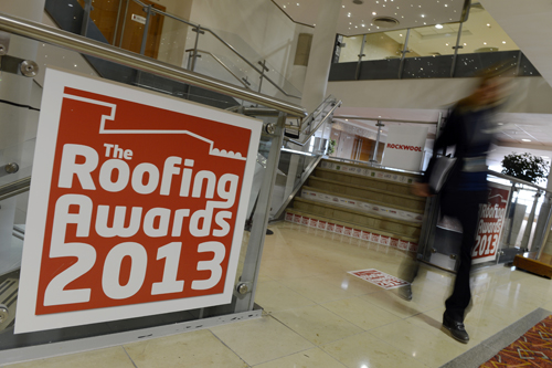 Roofing Awards Signage